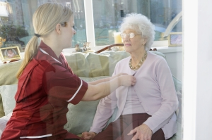 elderly caregiver